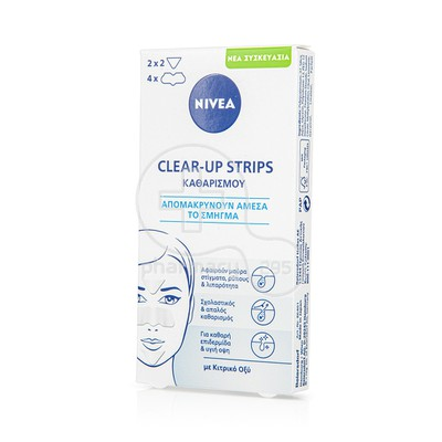 NIVEA - CLEAR UP Strips - 6τμχ
