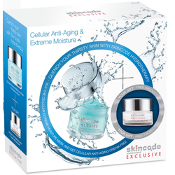 Skincode Set Exclusive Cellular Extreme Moisture Mask 50ml + Exclusive Cellular Anti-Aging Cream 24ωρη αντιγηραντική κρέμα 15ml