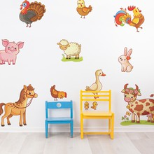 Farm set with animals web