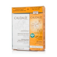CAUDALIE - PROMO PACK VINOPERFECT Sérum Eclat Anti-Taches (30ml) ΜΕ ΔΩΡΟ SOLEIL DIVIN Soin Solaire Visage Anti âge SPF50 (25ml)