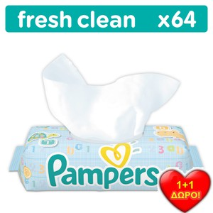 Power image pampers b.wipes baby fresh ant ko 12x64  81553598 4015400622840