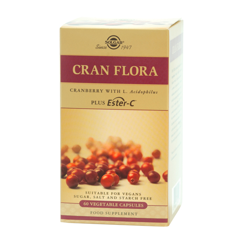 Cran Flora with Probiotics veg.caps