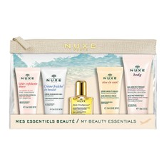 Nuxe PROMO PACK My Beauty Essentials 5Τμχ Travel Size & Νεσεσέρ.