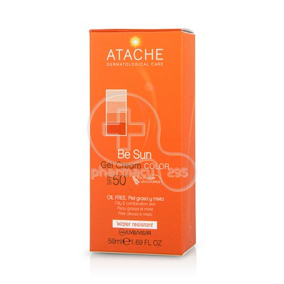 ATACHE - BE SUN Gel Cream Color SPF50+ - 50ml