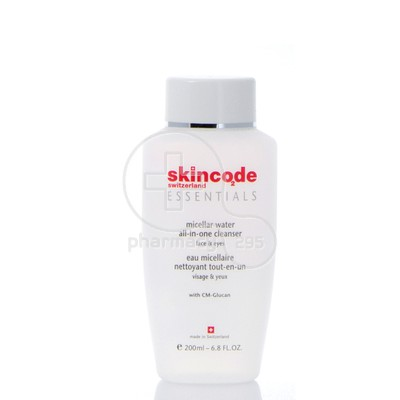 SKINCODE - ESSENTIALS Micellar Water All-in-One Cleanser - 200ml