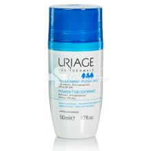 Uriage Deodorant Puissance 24h roll-on (Power 3) - Αποσμητικό Roll-on, 50ml