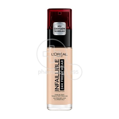 L'OREAL PARIS - INFALLIBLE 24h Fresh Wear Foundation No20 (Ivory) - 30ml