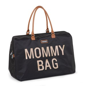 Τσάντα Αλλαγής Childhome Mommy Bag Big Black Gold