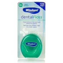 Wisdom Dental floss Mint Waxed, 100m