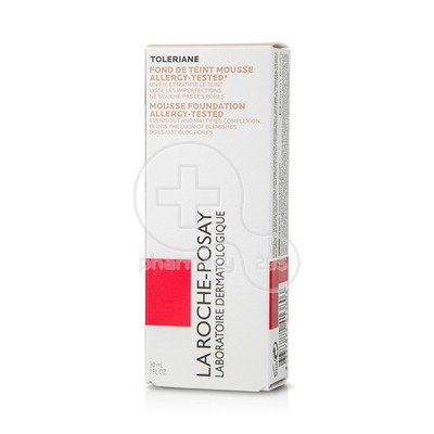 LA ROCHE-POSAY - TOLERIANE TEINT FDT Mousse 02 (Light Beige) - 30ml