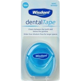 Wisdom Dental Tape 50 meter
