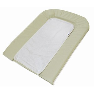 Changing Matress With Towel Lime-Blanc 70*45