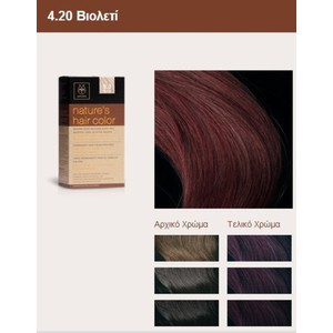 Apivita nature s hair color 4.20