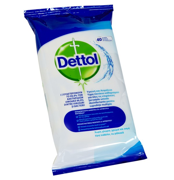 DETTOL SURFACE CLEAN WIPES 40 TMX