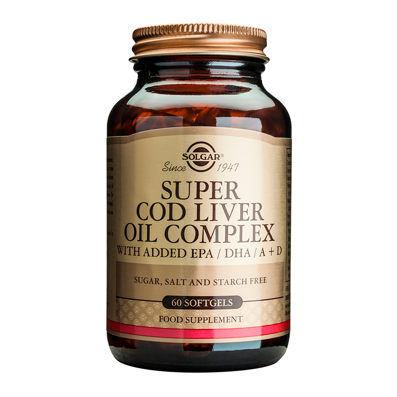 Super Cod Liver Oil Complex softgels