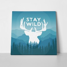 Wilderness poster deer 282913946 a