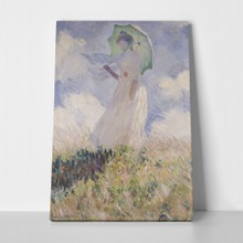 Woman with parasol monet a
