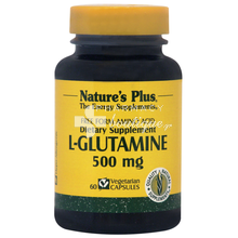 Nature's Plus L-GLUTAMINE 500mg - Έντερο, 60vcaps