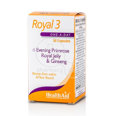 HEALTH AID - Royal 3 - 30caps