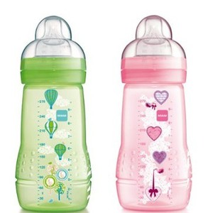 Mam baby bottle girl