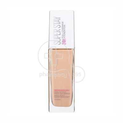 MAYBELLINE - SUPERSTAY Full Coverage Foundation No10 (Ivory) - 30ml