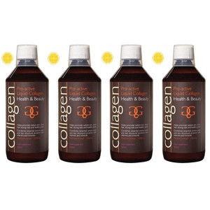 Collagen power pro active liquid collagen health   beauty 4x lemon