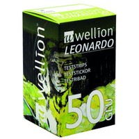WELLION LEONARDO GLUCOSE STRIPS 50ΤΕΜ