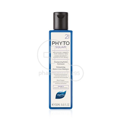 PHYTO - PHYTOSQUAM Phase 2 Shampooing Relais Antipelliculaire Hydratant - 250ml