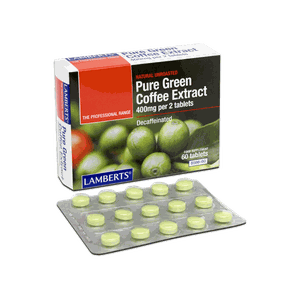 LAMBERTS Pure green coffee extract 60tablets