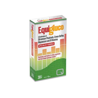 Quest Vitamins - Equigluco - 30tabs