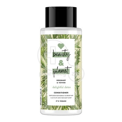 LOVE BEAUTY AND PLANET - Conditioner Rosemary And Vetiver - 400ml