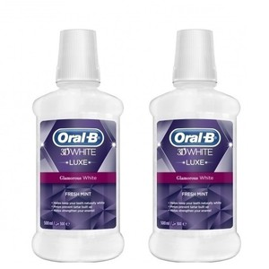 Oral b 3d white luxe fresh mint solution