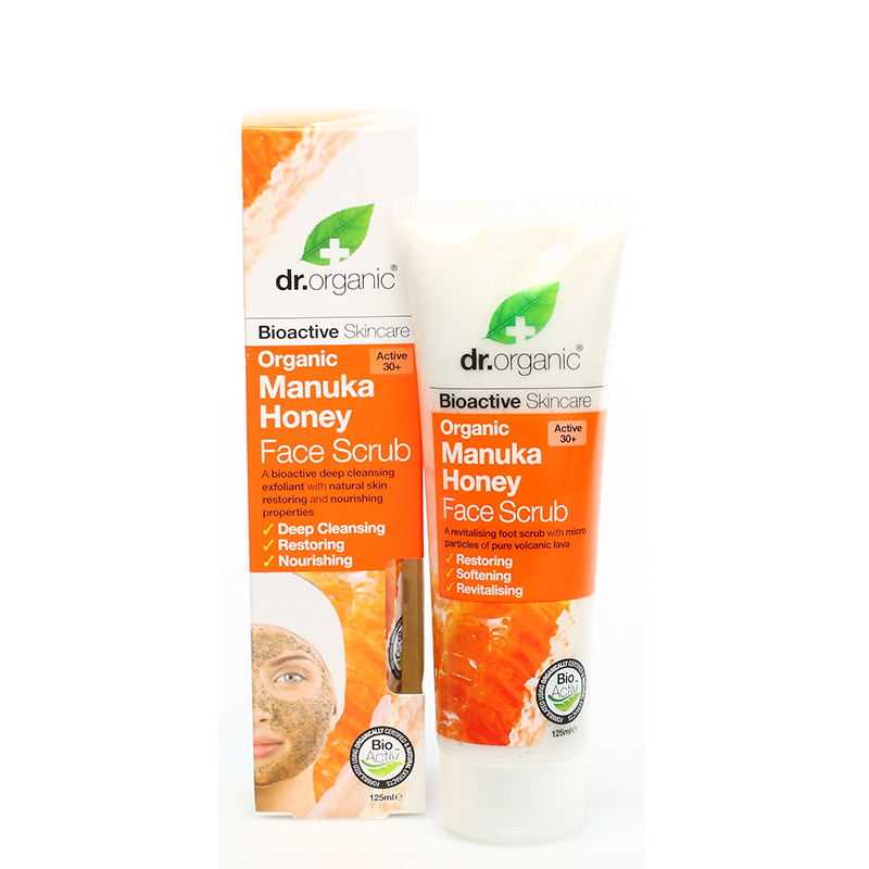 Organic Manuka Honey Face Scrub