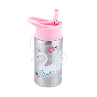 STEPHEN JOSEPH - Stainless Steel Water Bottle (Swan) - 532ml