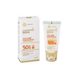 Medisei Panthenol Extra Sun Care Diaphanous Face Gel SPF50 Αντηλιακό Gel Προσώπου 50ml