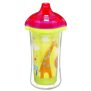 Munchkin insulated sippy light yellow