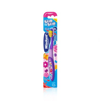 Wisdom - Step by Step 6+ years toothbrush - 1τμχ