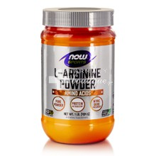 Now Sports L-Arginine Powder (Free Form), 454gr