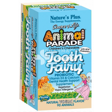 Nature's Plus Animal Parade TOOTH FAIRY - Δόντια, 90 μασ. ταμπλέτες