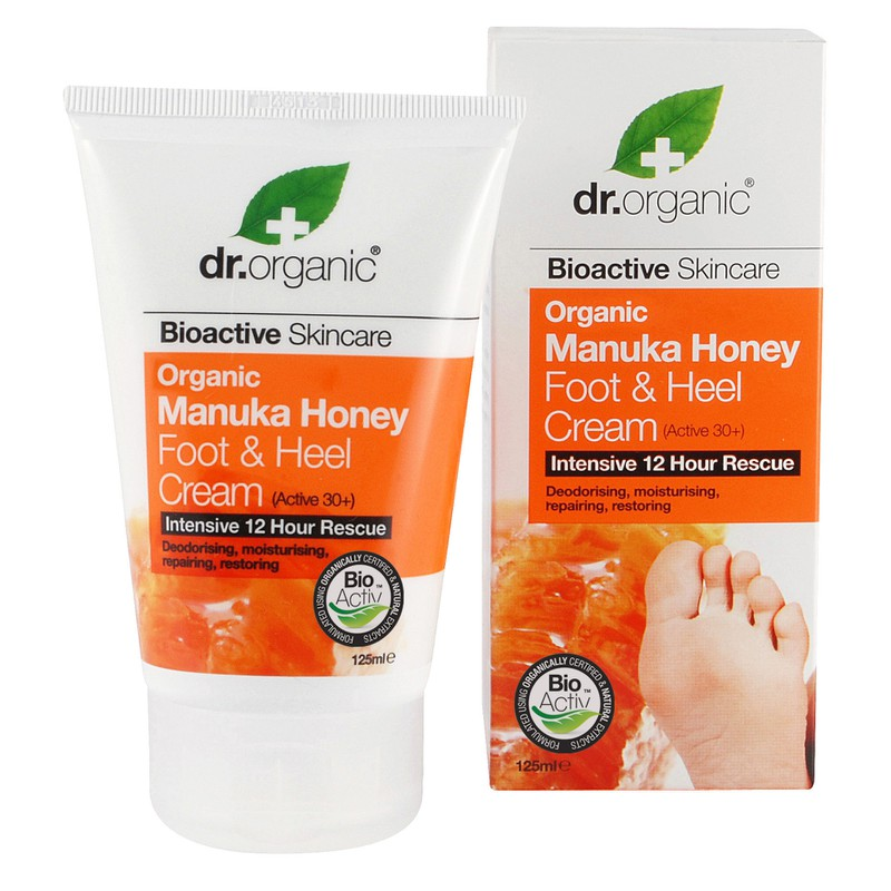 Organic Manuka Honey Foot and Heel Cream