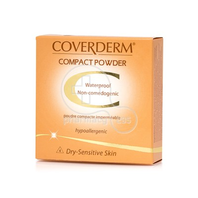 COVERDERM - COMPACT POWDER Dry-Sensitive Skin No4 - 10gr