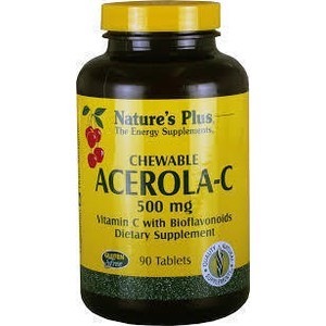 Nature s plus acerola  c 500mg