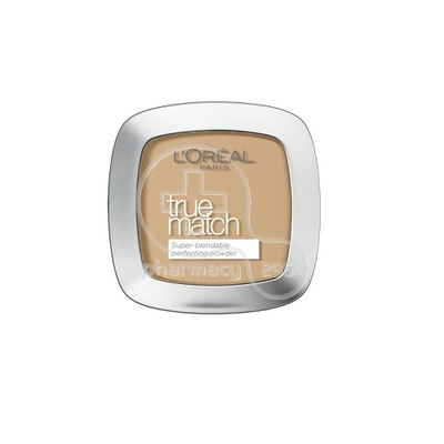 L'OREAL PARIS - TRUE MATCH Super Blendable Perfecting Powder NoW3 (Golden Beige) - 9gr