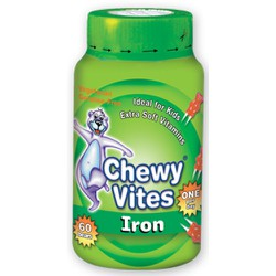 Chewy Vites Jelly Bears Iron 60 chewable jelly