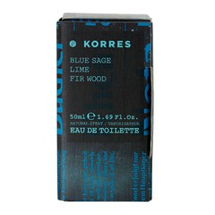 Korres Ανδρικό Άρωμα Blue Sage/Lime/Fir Wood 50ml