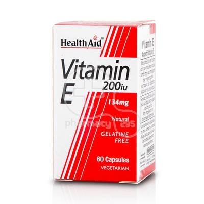 HEALTH AID - Vitamin E 200iu - 60caps