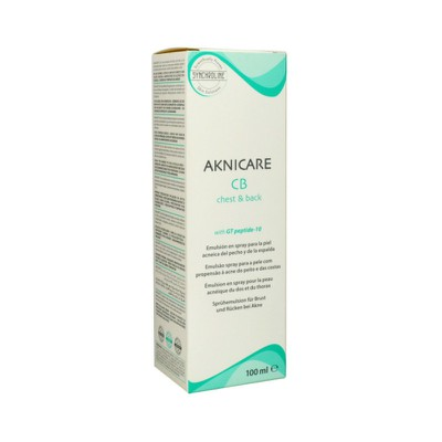 Synchroline - AKNICARE- CHEST & BACK 50ml