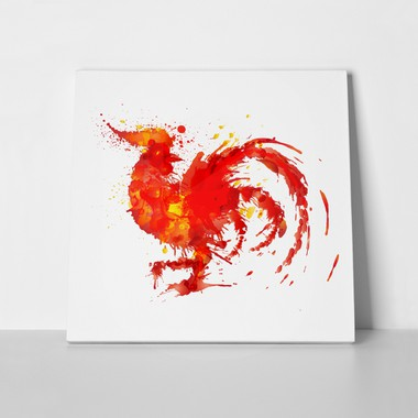 Fire rooster symbol 520251871 a