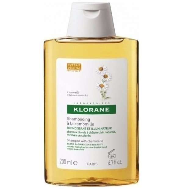 KLORANE HAIR CAMOMILLE SHAMPOO 200ML