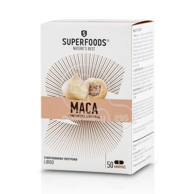 SUPERFOODS - MACA 50caps
